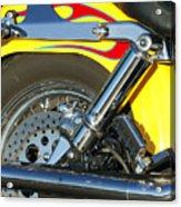 Harley-davidson Twin Cam 88 Rear Wheel Acrylic Print