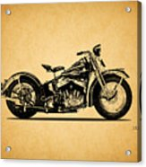 Harley Davidson Ulh 1941 Acrylic Print