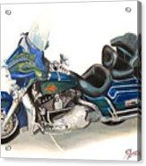 Harley Electraglyde Acrylic Print