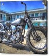 Harley Hotel Acrylic Print