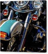 Harley Lights 1483 H_2 Acrylic Print