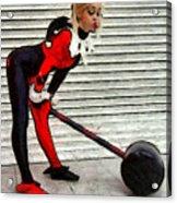 Harley Quinn Classic  - Free Style -  - Da Acrylic Print