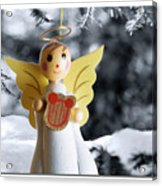 Harp The Herald Angels Sing Acrylic Print