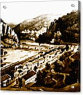 Harpers Ferry Acrylic Print by Bill Cannon