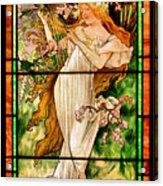 Harpist Acrylic Print