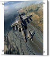 Harrier Element Acrylic Print