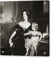 Harriet, Duchess Of Acrylic Print
