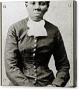 Harriet Tubman, American Abolitionist Acrylic Print by Photo Researchers