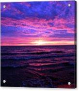 Harrington Beach Sunrise 3 Acrylic Print