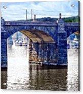 Harrisburg Pa - Market Street Bridge Acrylic Print