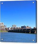 Harrisburg Skyline Acrylic Print