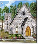 Harrisena Church Acrylic Print