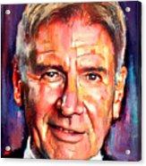 Harrison Ford Indiana Jones Portrait 2 Acrylic Print