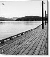 Harrison Lake Pier, Bc Acrylic Print