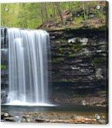 Harrison Wright Falls Spring Acrylic Print