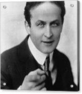 Harry Houdini Magician Acrylic Print