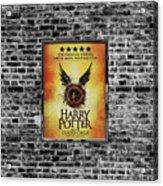 Harry Potter London Theatre Poster Acrylic Print