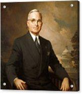 Harry Truman Acrylic Print