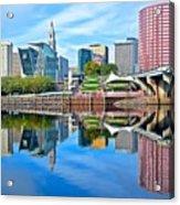 Hartford Reflects Acrylic Print