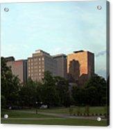 Hartford Skyline Panorama Acrylic Print