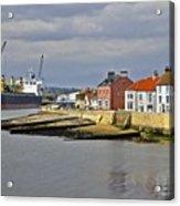 Hartlepool Harbour Evening Acrylic Print