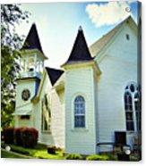 Hartsburg Baptist Church Acrylic Print