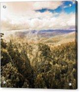 Hartz Mountains To Wellington Range Acrylic Print