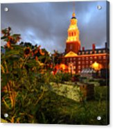 Harvard Community Garden Cambridge Ma Acrylic Print
