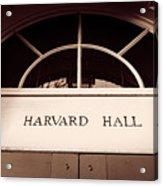 Harvard Hall #2 Acrylic Print