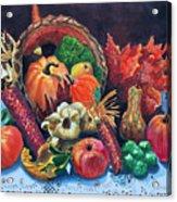 Harvest Bounty Acrylic Print
