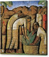 harvest, by Alfredo Ramos Martinez Acrylic Print
