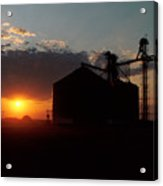 Harvest Sunset Acrylic Print