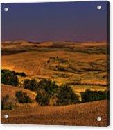 Harvested Fields Acrylic Print