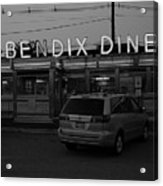 Hasbrouck Heights, Nj - Bendix Diner 3 Acrylic Print