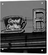 Hasbrouck Heights, Nj - Bendix Diner Acrylic Print