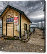 Hastings Jetty Acrylic Print