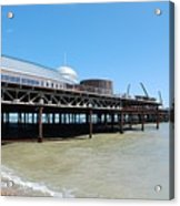 Hastings Pier, East Sussex Acrylic Print