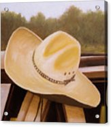 Hat Acrylic Print