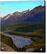 Hatcher's Pass Alaska Acrylic Print