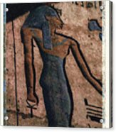 Hathor Holding The Ankh Sign Acrylic Print
