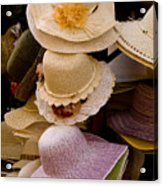 Hats Capri Italy Acrylic Print