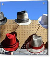 Hats Selection Day Dead  Acrylic Print