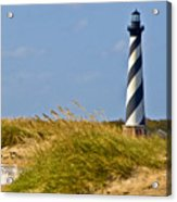Hatteras Lighthouse Acrylic Print