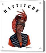 Hattitude #40 Acrylic Print