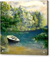 Hatzec Lake Acrylic Print