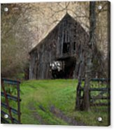 Haunted Barn Acrylic Print