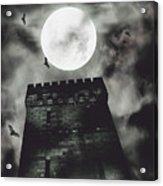 Haunted Dark Castle Acrylic Print