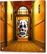 Haunted Hallway Acrylic Print