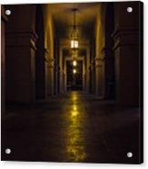 Haunted Hallways Acrylic Print