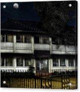 Haunted Hotel Acrylic Print
